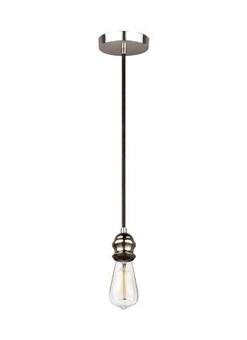 Feiss - One - Light Mini-Pendant - P1367AGP