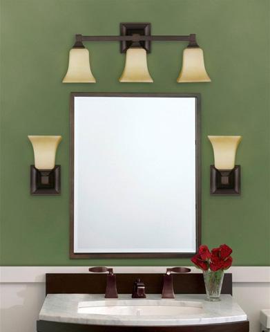 Feiss - Three - Light Vanity Fixture - VS12403-ORB