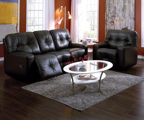 Palliser Furniture - Mystique Sofa Recliner - 41042-51