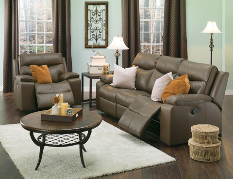 Palliser Furniture - Console Loveseat with Cup Holder - 41034-68