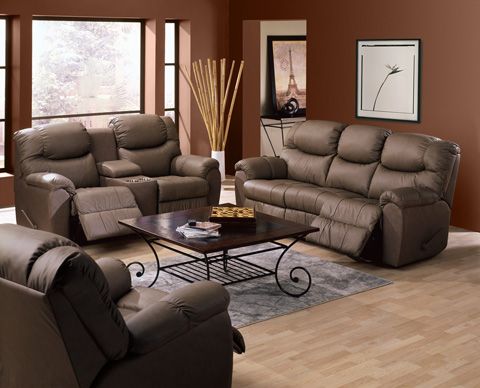 Palliser Furniture - Console Loveseat with Cup Holder - 41094-68