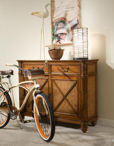Palmetto Home - Island Breeze Sliding Door Dresser - 103-180
