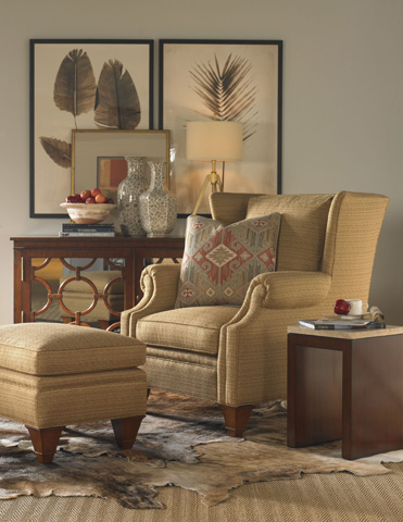 Pearson - Upholstered Wing Chair - 306-00