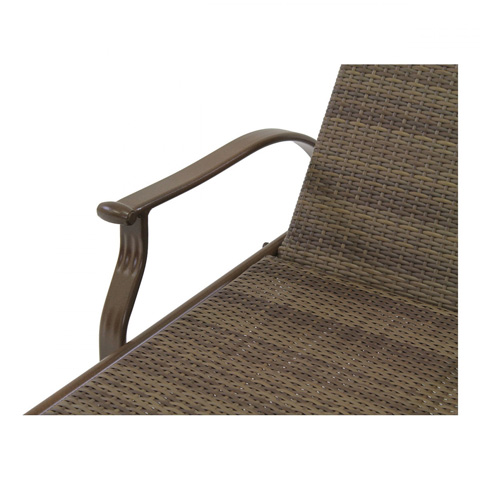 Pelican Reef - Island Cove Woven Stackable Sling Chaise Lounge - PJO-8001-ESP-CL