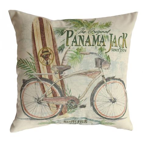 Pelican Reef - Panama Jack Beach Comber Throw Pillow - PJO-9001-BEC-TP