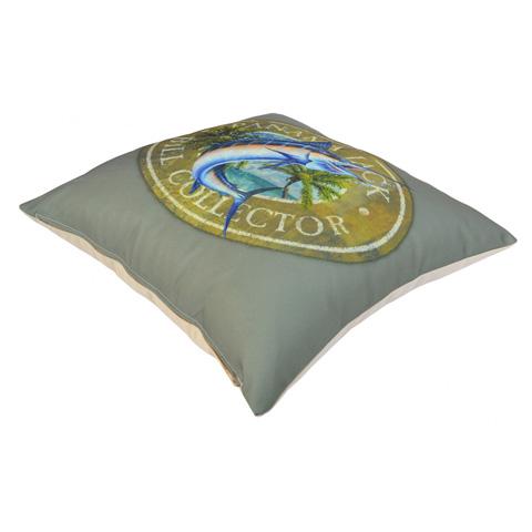 Pelican Reef - Panama Jack Bill Collector Throw Pillow - PJO-9001-BIC-TP