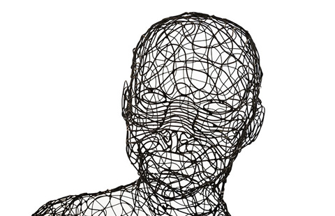 Phillips Collection - Crazy Wire Standing Female - PH64905