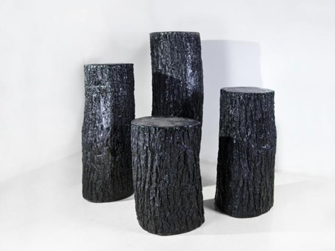 Phillips Collection - Bark Pedestal - PH61020