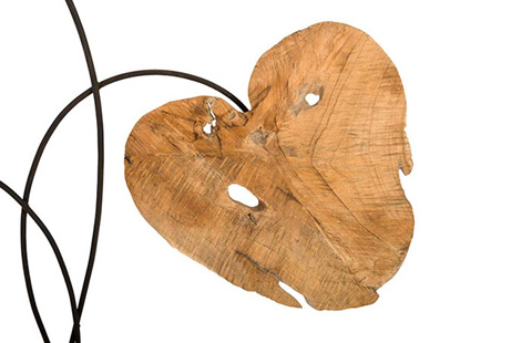 Phillips Collection - Carved Leaf Sculpture - ID75189