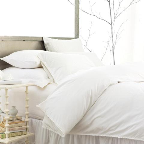 Pine Cone Hill, Inc. - Petite Ruffle White Pillowcases (Pair) - Standard - SPRWCSS