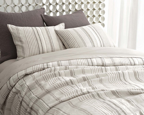 Pine Cone Hill, Inc. - Gradation Linen Duvet Cover in Full/Queen - GTGDCQ