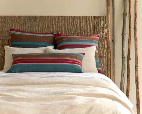 Pine Cone Hill, Inc. - Linen Chenille Natural Duvet Cover in Full/Queen - LCNDCQ