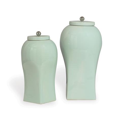 Port 68 - Boulevard Celadon Small Jar - ACAS-219-02