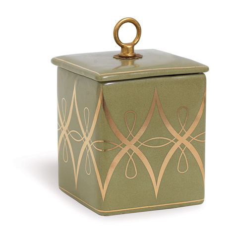 Port 68 - Zelda Olive Square Box - ACDS-183-05