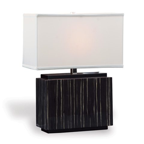Port 68 - Dylan Black Rectangle Lamp - LPAS-250-06