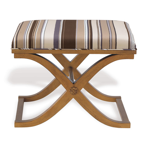Port 68 - Alex Bench in Aged Gold Finish - AFBS-040-03