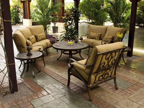 Castelle - Veracruz Cushion Double Chaise Lounge - 4052T