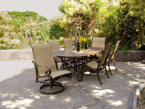 Castelle - Veracruz Sling Chaise Lounge - 4092S
