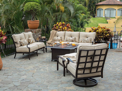 Castelle - Monterey Cushion Sofa - 5814T