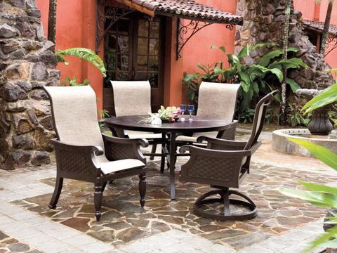 Castelle - Jakarta Sling Chaise Lounge - 7282S