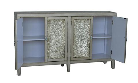 Pulaski - Antique Crackle Glass Console - 730065
