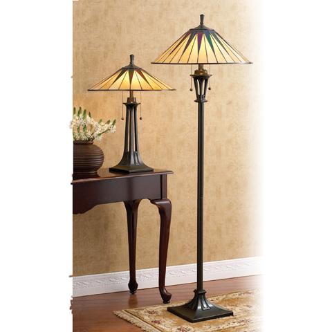 Quoizel - Gotham Floor Lamp - TF9397VB