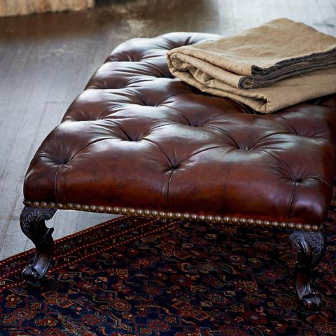 Ralph Lauren by EJ Victor - Chatsworth Ottoman - 008-04