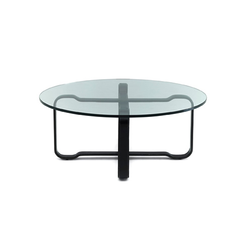 Ralph Lauren by EJ Victor - Cliff House Leather Wrapped Cocktail Table - 2900-40BH