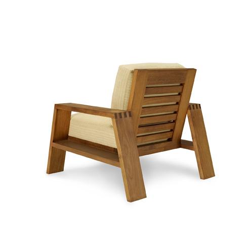 Ralph Lauren by EJ Victor - Desert Modern Wood Club Chair - 833-03