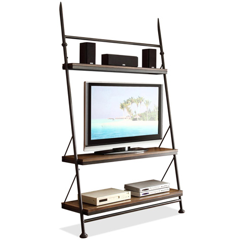 Riverside Furniture - Leaning TV Stand - 23740
