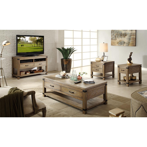 Riverside Furniture - Rectangular Side Table - 37709