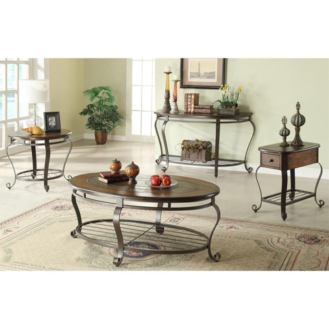 Riverside Furniture - Round Side Table - 54709
