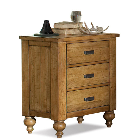 Riverside Furniture - Three Drawer Nightstand - 91668