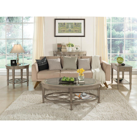 Riverside Furniture - Round Side Table - 15508