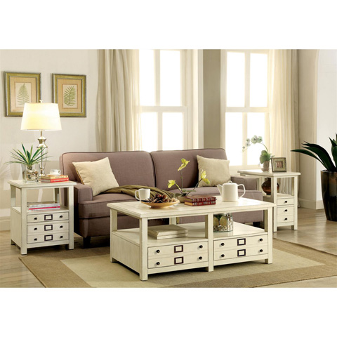 Riverside Furniture - Chairside Table - 22511