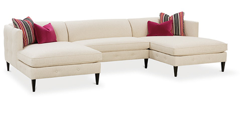 Rowe Furniture - Claire Sectional - N760-118/N760-115