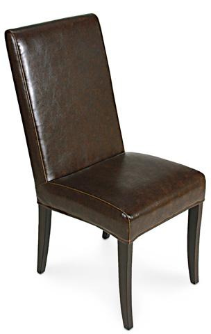 Sarreid Ltd. - Brown Milano Side Chair - 15662