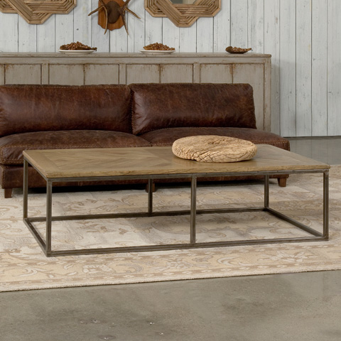 Sarreid Ltd. - Driftwood Cascade Cocktail Table - 27848