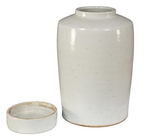 Sarreid Ltd. - The Stack Ceramic Urn - 29889
