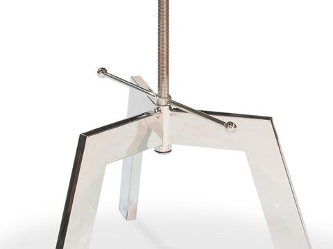 Sarreid Ltd. - Met House Adjustable Table - 30289