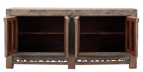 Sarreid Ltd. - Cabinet with Four Doors - SA-7635