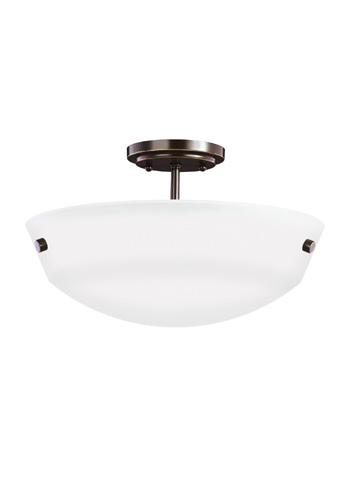 Sea Gull Lighting - Two Light Semi-Flush Convertible Pendant - 7715202-782