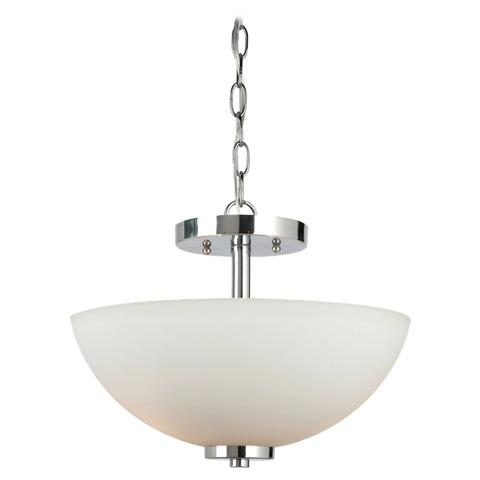 Sea Gull Lighting - Two Light Semi-Flush Convertible Pendant - 77160-05