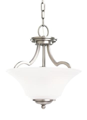 Sea Gull Lighting - Two Light Semi-Flush Convertible Pendant - 77375-965
