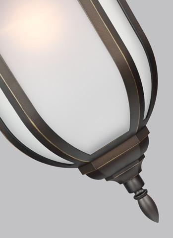 Sea Gull Lighting - Large One Light Outdoor Wall Lantern - 8736301-71