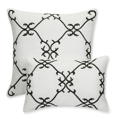 Sferra Bro Ltd - Oblong Decorative Pillow - 10544.12X18GCO