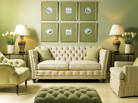 Sherrill Furniture Company - Tufted Two Cushion Sofa - DC52