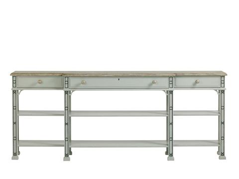 Stanley Furniture - Brighton Sofa Table - Lamb's Ear - 340-55-05