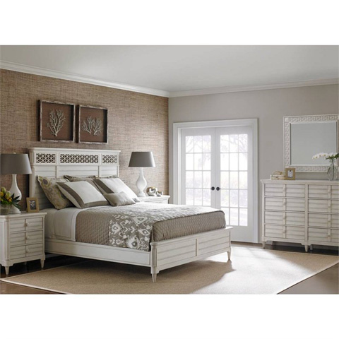 Stanley - Portfolio - Cypress Grove Wood Panel Bed in Parchment - 451-23-45
