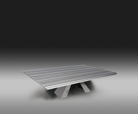 Stone International - Rectangular Cocktail Table - 9782